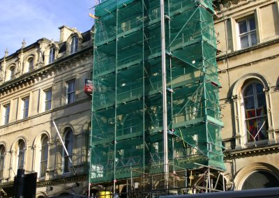 Bristol White Stuff Scaffold and Hoist